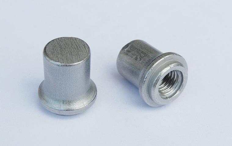 杰阳盲孔焊接螺母M12